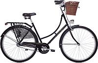 Велосипед AIST Amsterdam 2.0 (черный) -