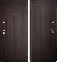 Входная дверь Йошкар Стройгост 7-2 Металл (96x206, правая) -