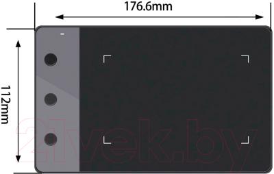 Графический планшет Huion H420 (черный)
