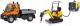 Набор игрушечных автомобилей Dickie Набор дорожной техники / 203828005 -