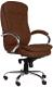 Кресло офисное Everprof Valencia PU (коричневый) -