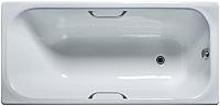 Ванна чугунная Универсал Ностальжи-У 150x70 (1 сорт, с ручками и ножками) -