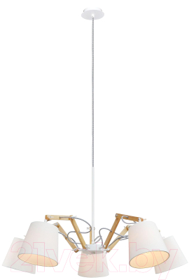 Люстра Arte Lamp Pinoccio A5700LM-5WH