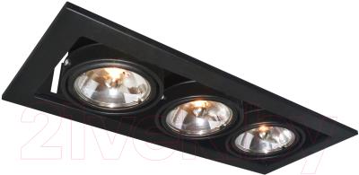 Точечный светильник Arte Lamp Technika A5930PL-3BK