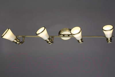 Спот Arte Lamp Vento Bronze A9231PL-4AB