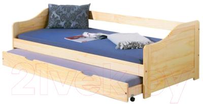 Двухъярусная кровать Halmar Laura (сосна)
