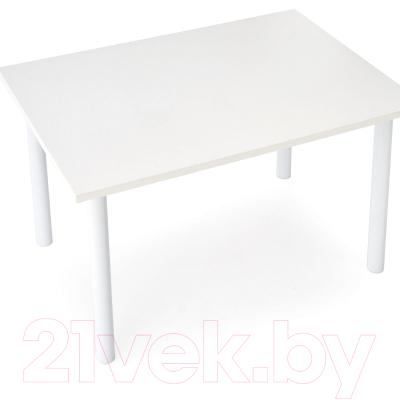 Обеденный стол Halmar Adonis (белый)