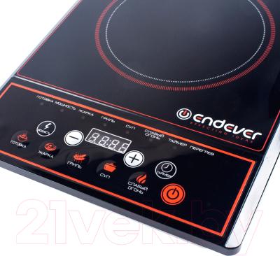 Электрическая настольная плита Endever Skyline DP-40 (черный/красный)