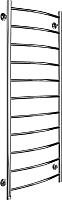 Полотенцесушитель водяной Ростела Соната 50x120/11 (1/2