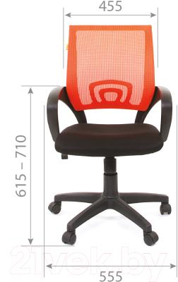 Кресло офисное Chairman 696 TW (синий)