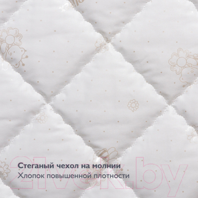 Матрас в кроватку Плитекс Flex Cotton Ring ФК-02/2