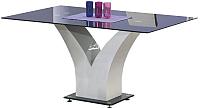 Обеденный стол Halmar Vesper 160x90 (черный) -