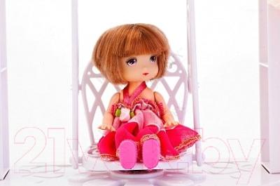 Кукла с аксессуарами Bradex Лелия с качелями DE 0226