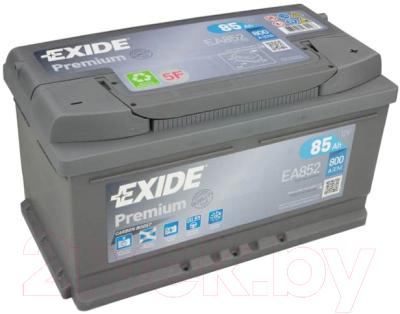 Автомобильный аккумулятор Exide Premium EA852