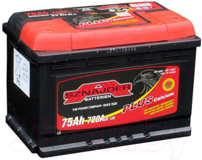 Автомобильный аккумулятор Sznajder Plus 575 20 (75 А/ч)