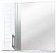 Шкаф с зеркалом для ванной Акваль Анна 70 / АННА.04.75.00.L -