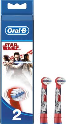 Насадки для зубной щетки Braun Oral-B Stages Power Star Wars EB10K (2шт)