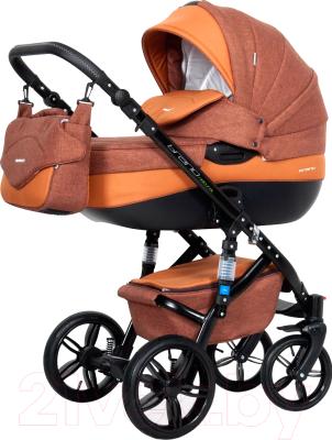Детская универсальная коляска Riko Brano Natural 2 в 1 (06/Copper)