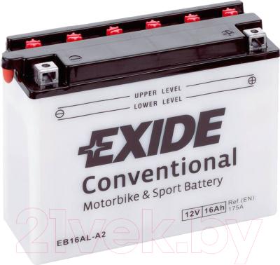 Мотоаккумулятор Exide Conventional EB16AL-A2 (16 А/ч)