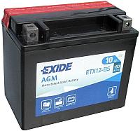 Мотоаккумулятор Exide ETX-12 BS (10 А/ч) -