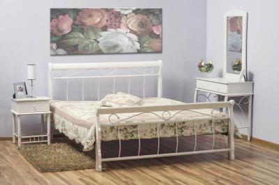 Полуторная кровать Signal Venecja 120x200 (белый)