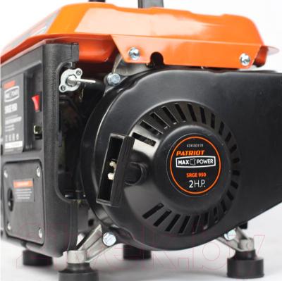 Бензиновый генератор PATRIOT Max Power SRGE 950 (474102020)
