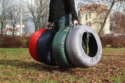 Чехол для колес ТрендБай Коверин 255 (синий)