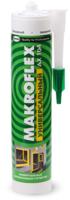 Герметик силиконовый Makroflex АX 104 универсальный (290мл, белый) -
