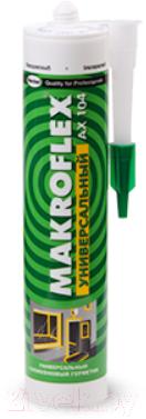 Герметик силиконовый Makroflex АX 104 универсальный (290мл, белый)