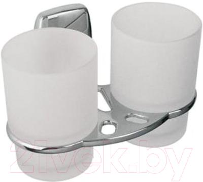 Набор стаканов для зубной щетки и пасты Bisk 79708