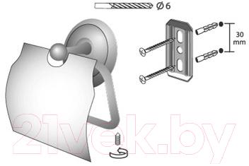 Держатель для туалетной бумаги Bisk 00403
