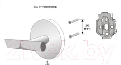 Держатель для туалетной бумаги Bisk 72078