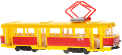 Трамвай игрушечный Технопарк Трамвай CT12-463-2