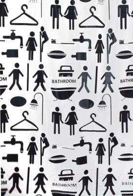 Шторка-занавеска для ванны Bisk 06847