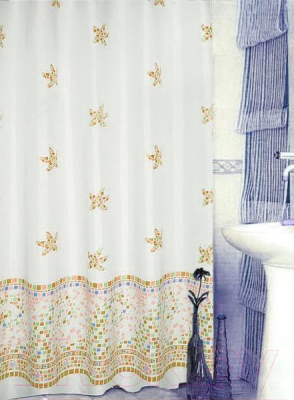 Шторка-занавеска для ванны Bisk 08012