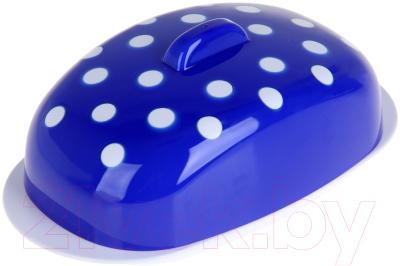 Масленка Berossi Marusya ИК 21010000 (синий полупрозрачный)