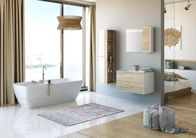 Шкаф-пенал для ванной Aqwella Майами / Mai.05.04