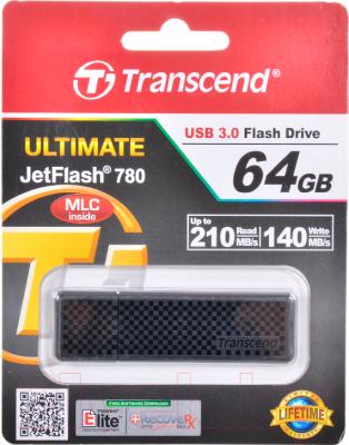 Usb flash накопитель Transcend JetFlash 780 64 Гб (TS64GJF780)