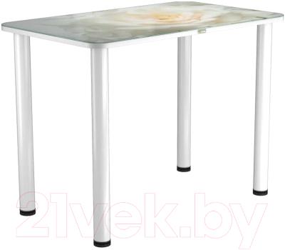 Обеденный стол Васанти Плюс ПРФ 110x70 (белый/120)