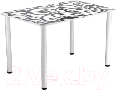 Обеденный стол Васанти Плюс ПРФ 110x70 (белый/122)