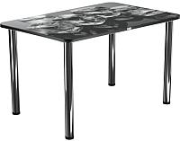 Обеденный стол Васанти Плюс ПРФ 100x60 (хром/98) -