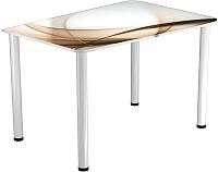 Обеденный стол Васанти Плюс ПРФ 100x60 (белый/111) -
