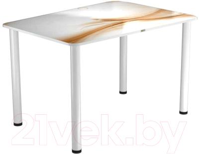 Обеденный стол Васанти Плюс ПРФ 100x60 (белый/113)