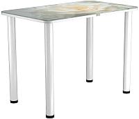 Обеденный стол Васанти Плюс ПРФ 100x60 (белый/120) -