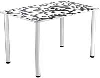 Обеденный стол Васанти Плюс ПРФ 100x60 (белый/122) -