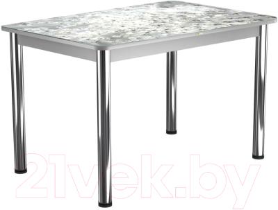Обеденный стол Васанти Плюс ПРФ 120x80/3/ОА (хром/117)