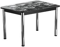Обеденный стол Васанти Плюс ПРФ 100x60/3/ОЧ (хром/98) -