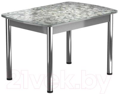 Обеденный стол Васанти Плюс БРФ 120/152x80Р/ОА (хром/117)