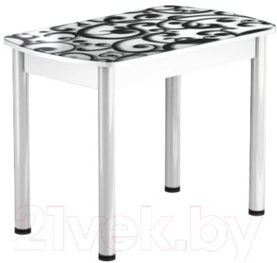 Обеденный стол Васанти Плюс БРФ 110/142x70Р/ОБ (белый/122)