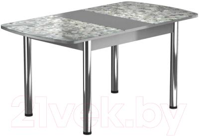 Обеденный стол Васанти Плюс БРФ 100/132x60Р/ОА (хром/117)